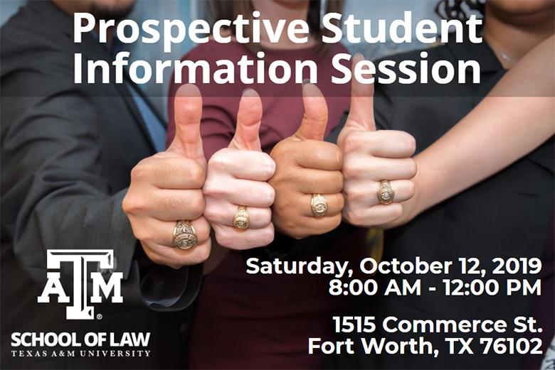 October 2019 Info Session invite