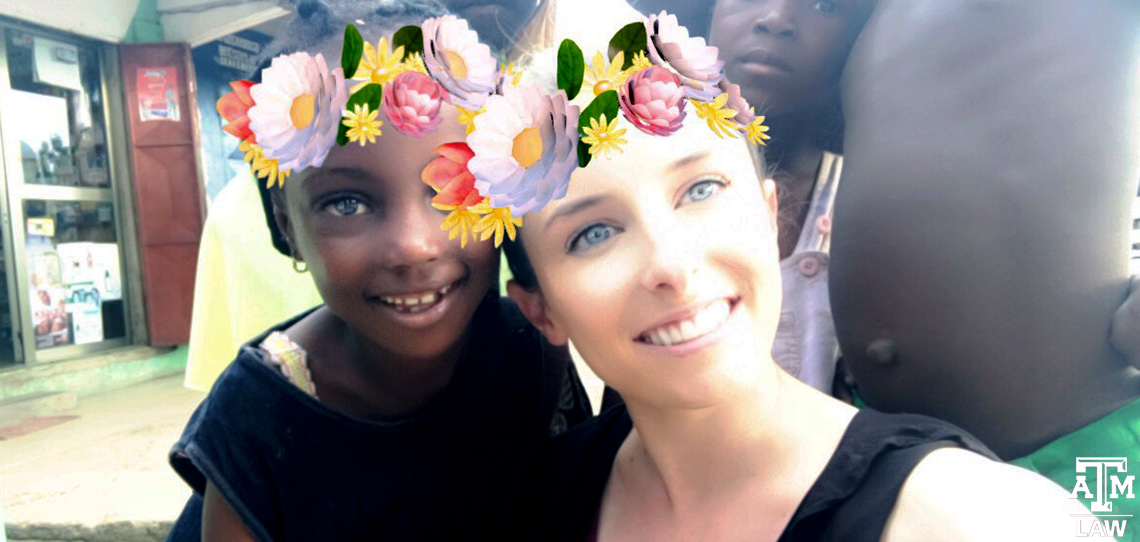 Megan Reed with kids and snapchat