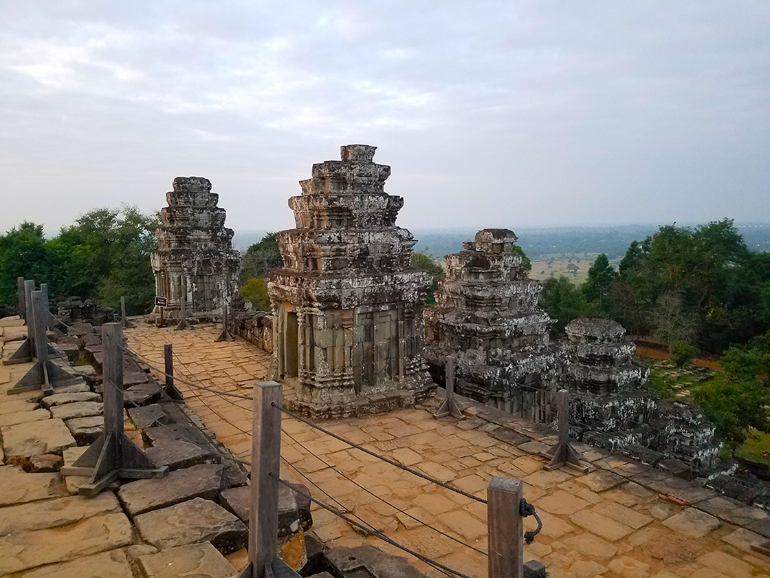 Cambodia- Phnom Bakheng at sunrise
