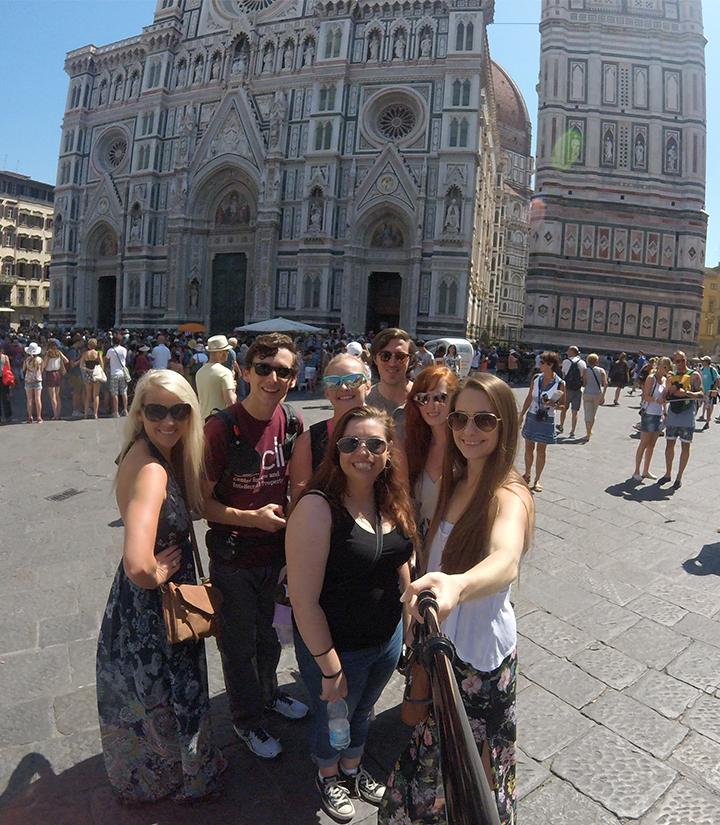 Italy Florence selfie
