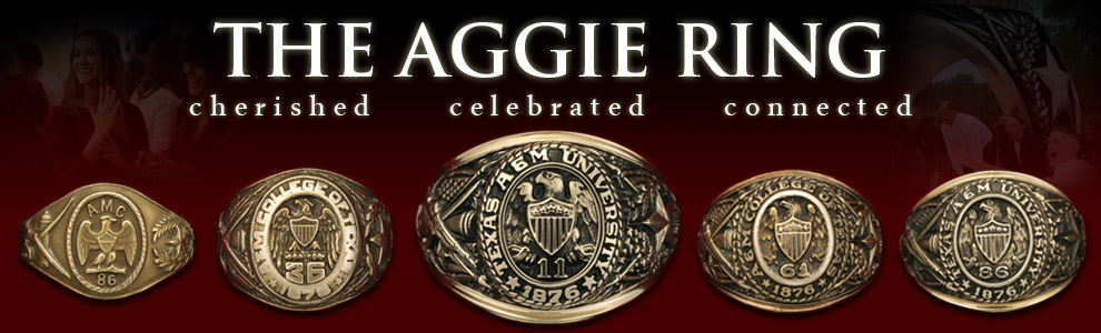 The Aggie Ring - banner