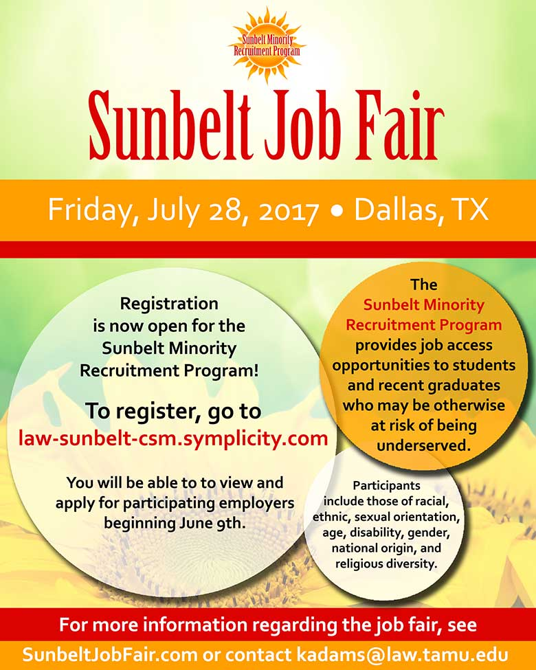 Sunbelt Registration Flyer