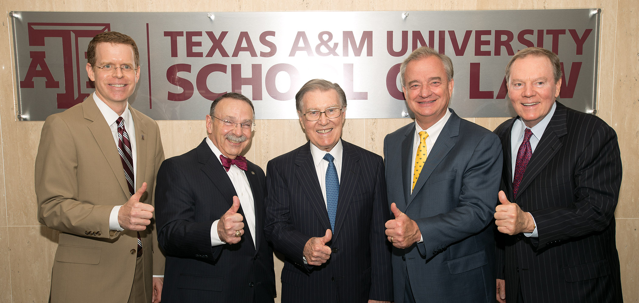 Announcement of acquisition of law school by Texas A&M University
