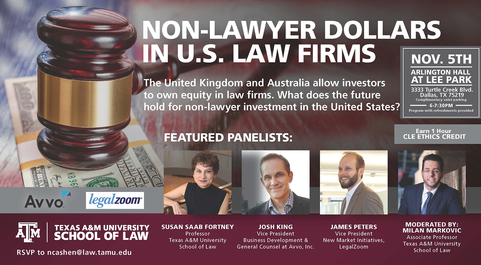 Non-Lawyer Investment CLE
