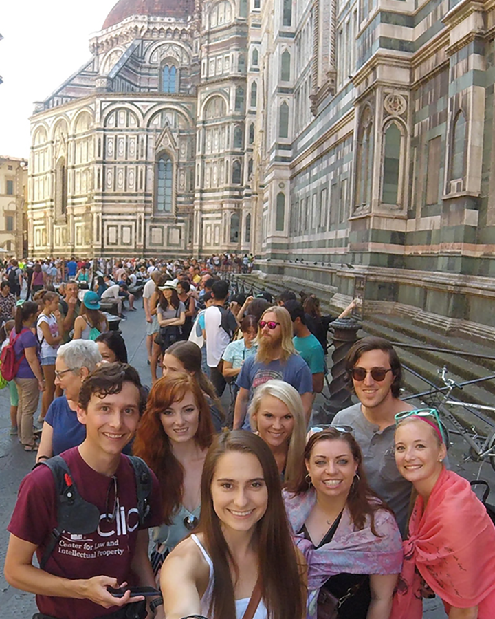 Italy Florence student group