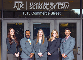 Students In Front Of Texas Au0026M School Of Law Part 29