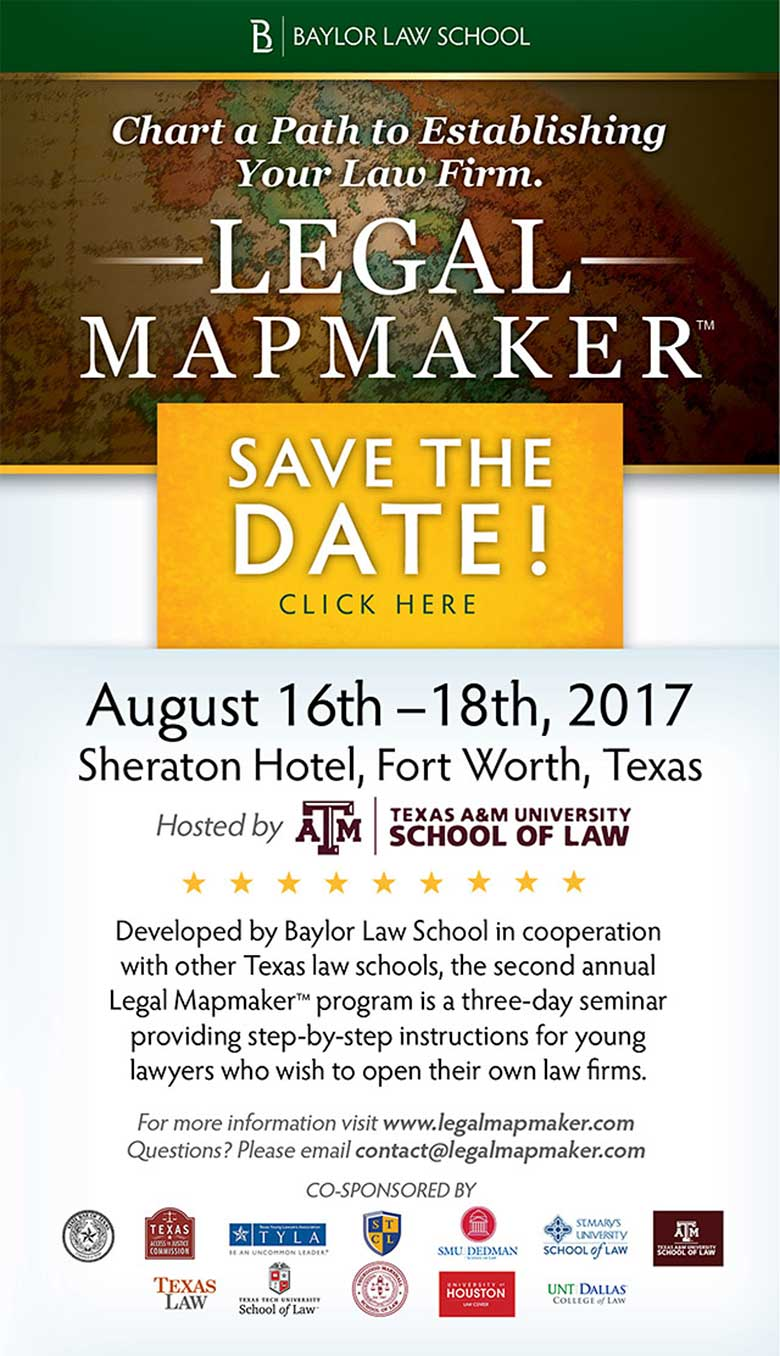 2017 Legal Mapmaker Flyer
