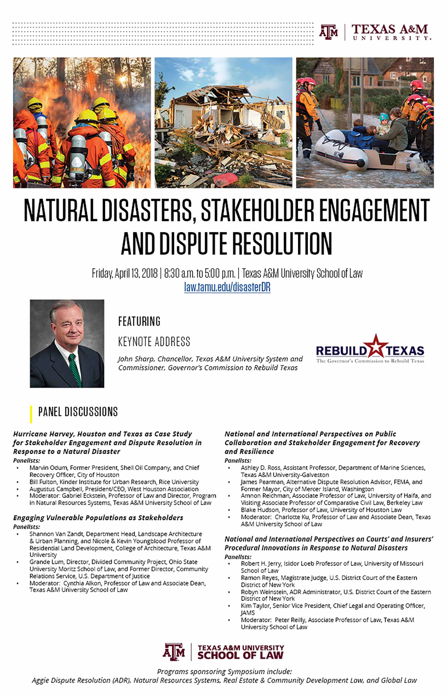 Disaster Dispute Resolution