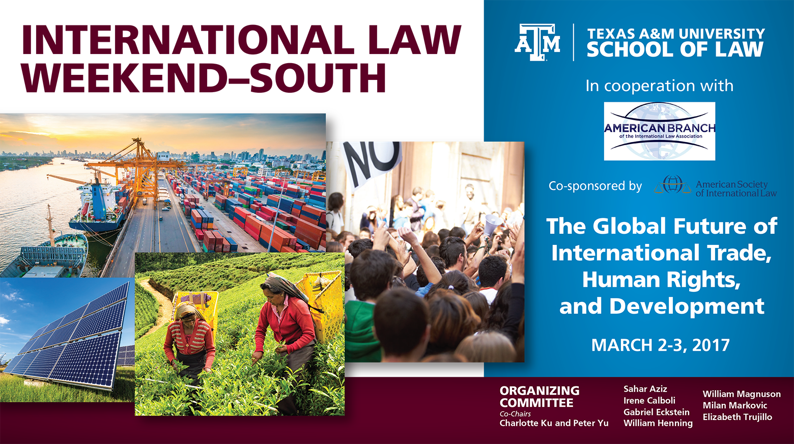 International Law Weekend South 2017 event banner