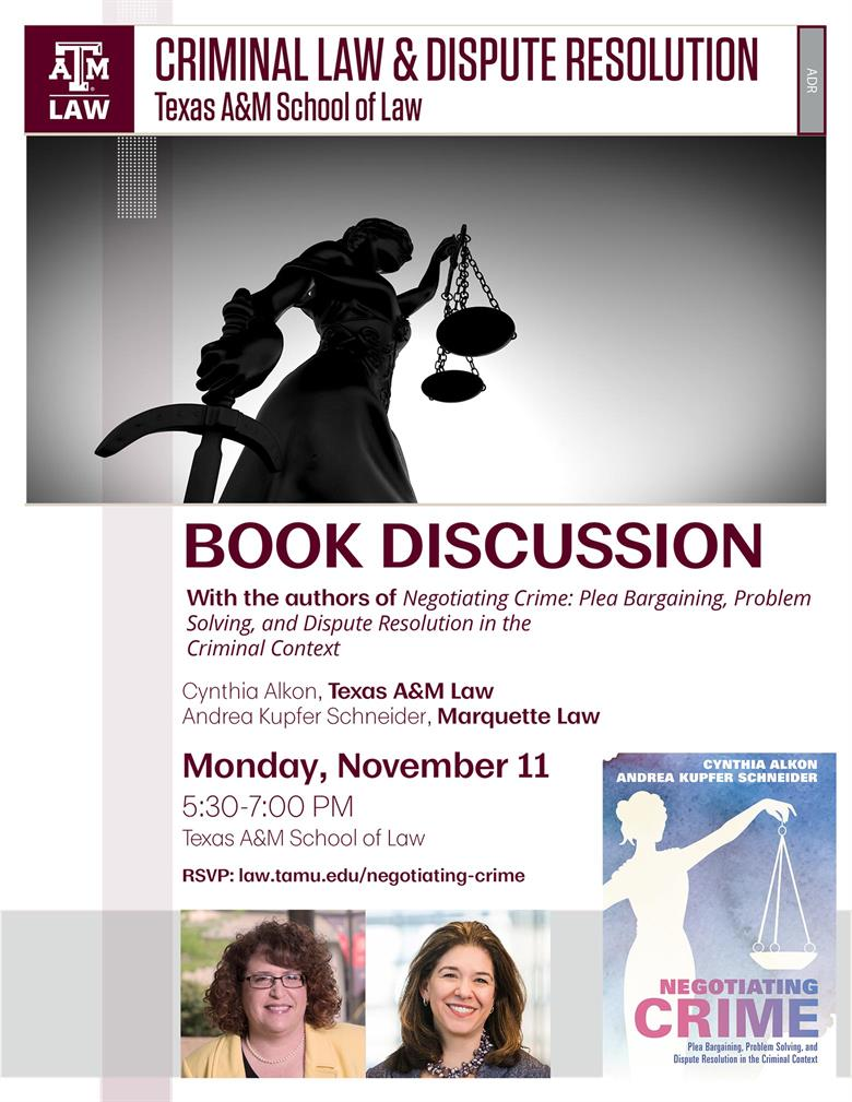 Alkon Book Discussion event flyer