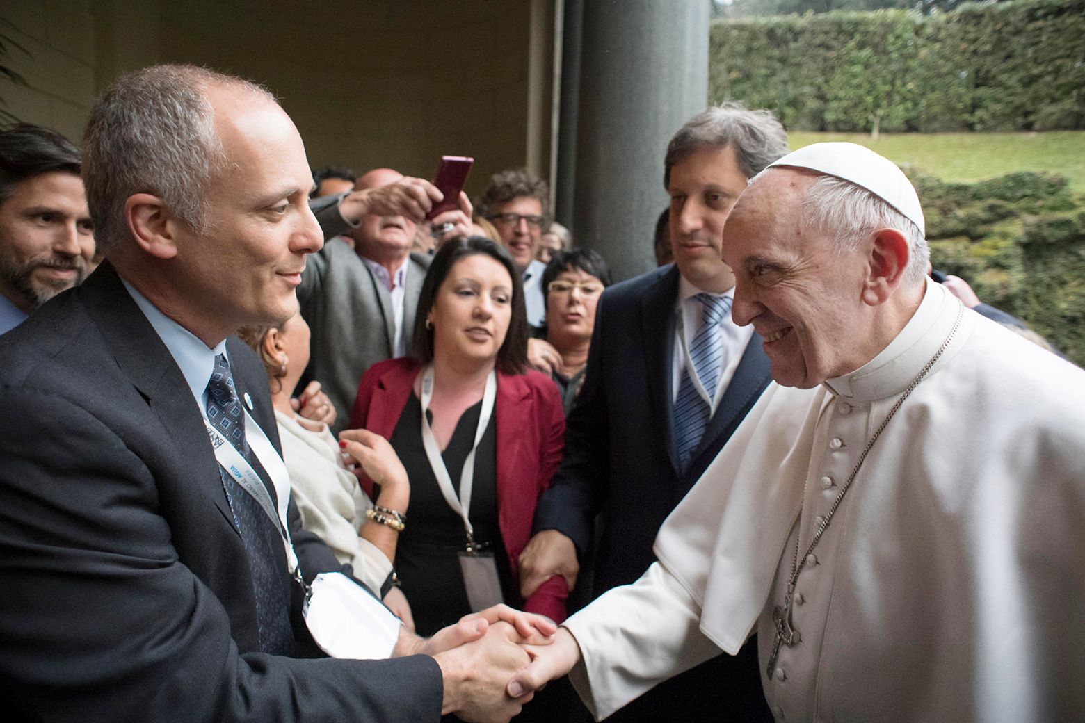 Eckstein at Vatican