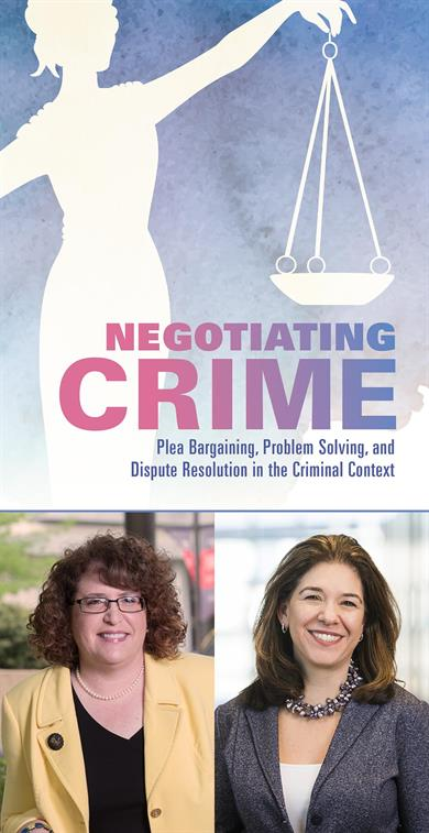 Negotiating crime book cover with authors