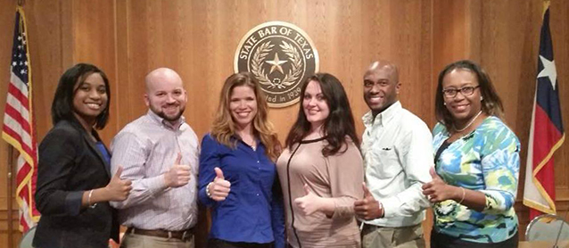 Texas A&M University School of Law students attend the Access to Justice Law Student Leaders Summit