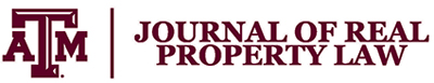 Texas A&M Journal of Real Property logo