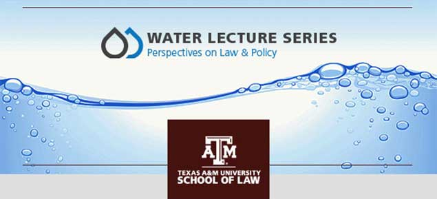 Water Lecture Series header