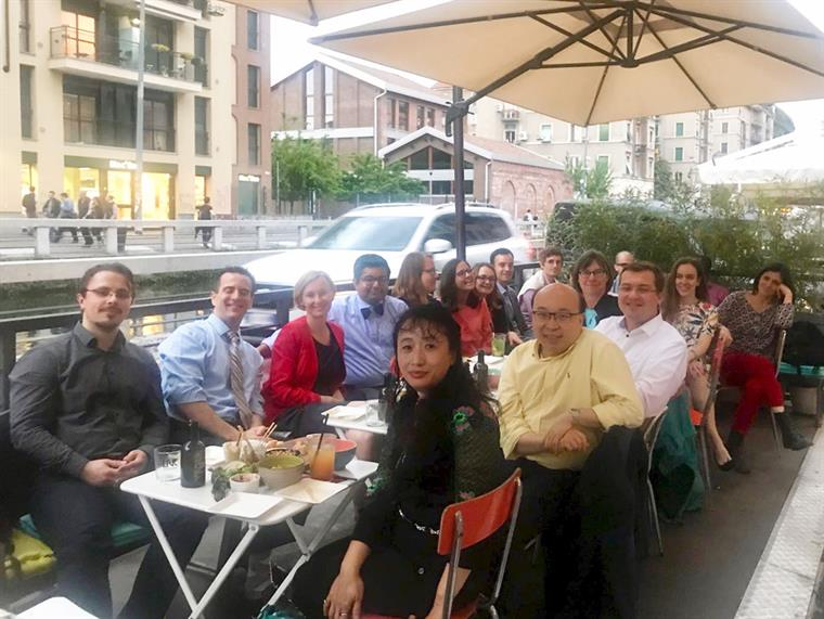 CICL 2018 closing dinner in Milan