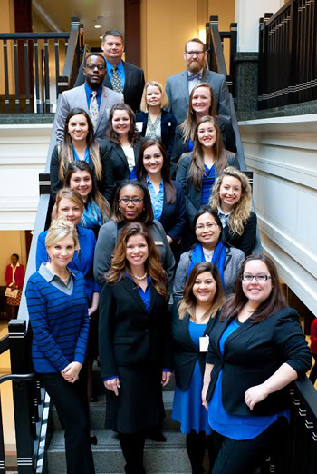 Texas A&M School of Law Students at National Adoption Day in Tarrant County