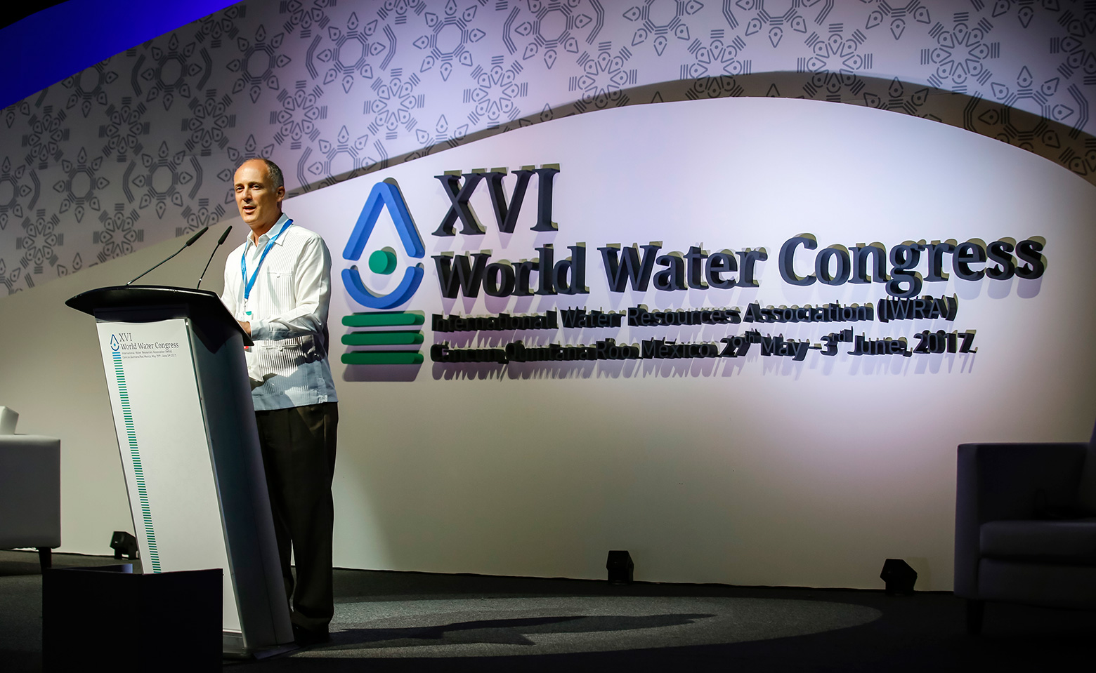 Texas A&M Law Prof. Gabriel Eckstein chairs the World Water Congress