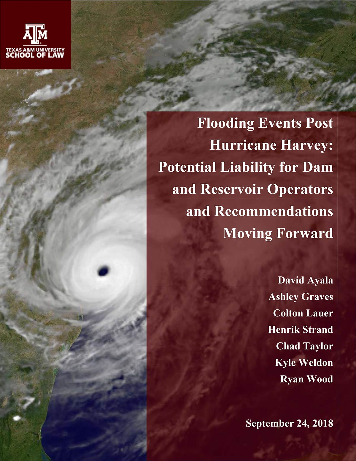 Flooding Liability Report cover