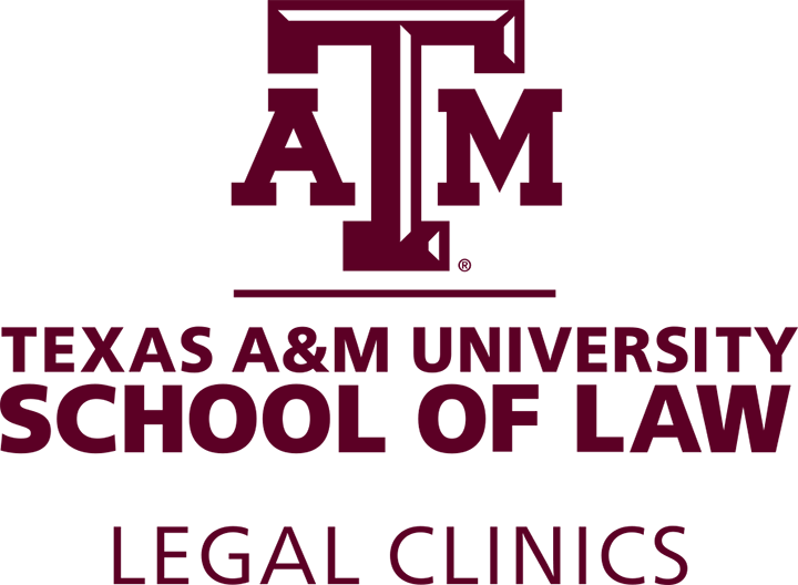 Texas A&M School of Law Legal Clinics logo