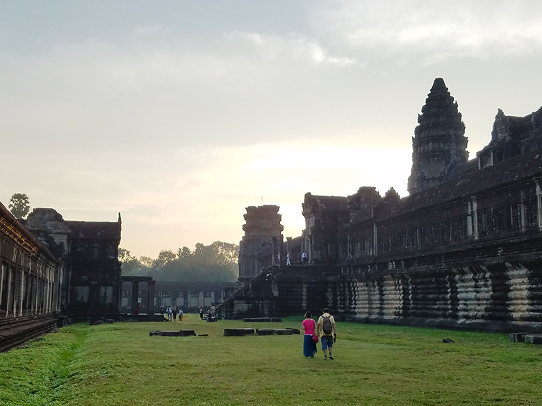 Cambodia- Angkor Wat at sunrise