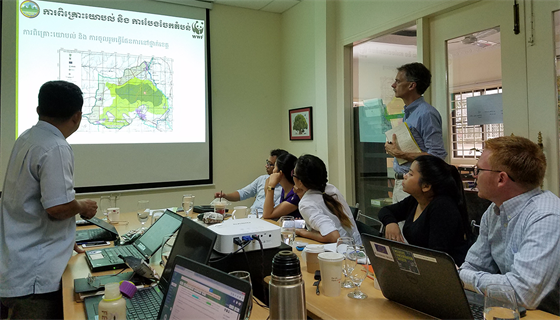 working with NGOs in Cambodia