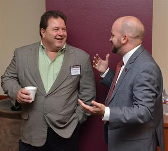 Brent Dore and Darren Turley at the Texas A&M Law Review agriculture symposium
