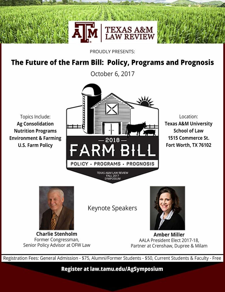 Fall 2017 Symposium | Texas A&M Law Review