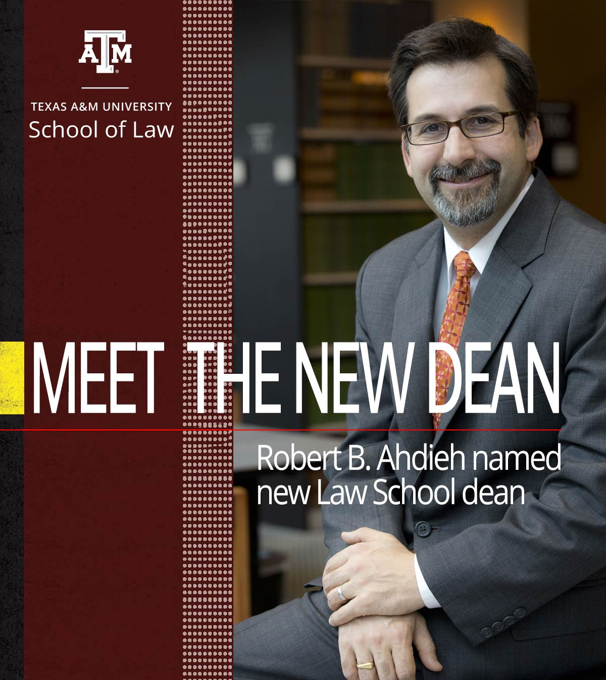 New Dean Robert Ahdieh