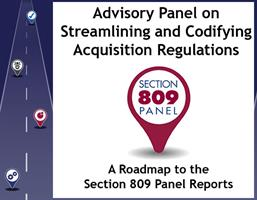 Section 809 Panel visit