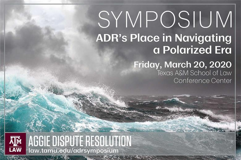 2020 ADR Symposium header stormy seas