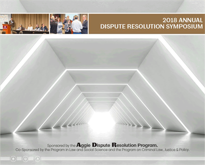 ADR 2018 symposium flyer