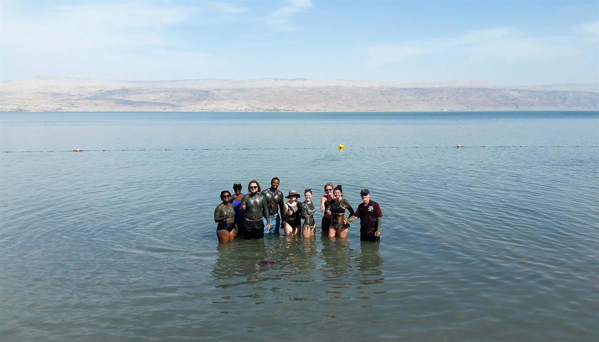 Israel Dead Sea Ein Bokek mud May17