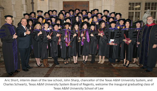 Tamu Academic Calendar 2014 2020 Inaugural Class of Texas A&M School of Law Graduates