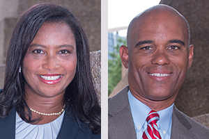 Prof. Lisa Alexander and Prof. Thomas Mitchell