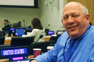 Bill Henning at the UN