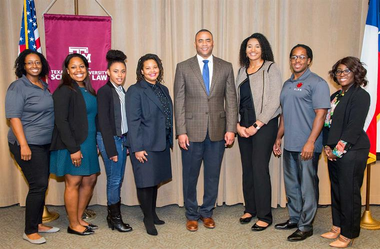 BLSA Black History Month with Congressman Veasey