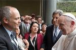 Prof Gabriel Eckstein and Pope Francis