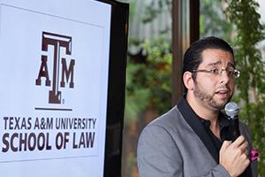 TAMU Law Prof. Milan Markovic at Ignite Law