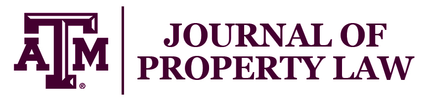 Texas A&M Journal of Property Law