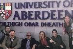 Scotland Aberdeen Univ sign